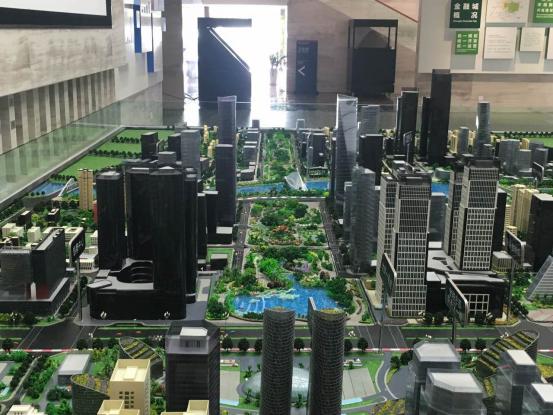 金融城换了新沙盘 成都第一豪宅区雏形已现
