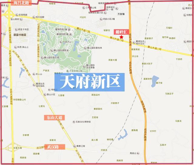 要买房落户 你分得清城南的三大行政区域吗?图片