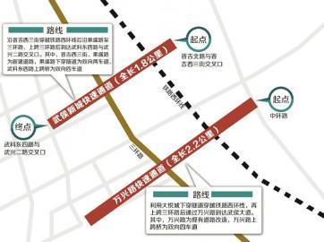 成都城西交通情況變化大 西三環到二環只需10