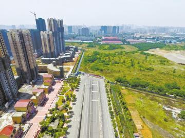 成都蜀龙路断头处工厂年内搬 建兴路有望半年内打通高清图片