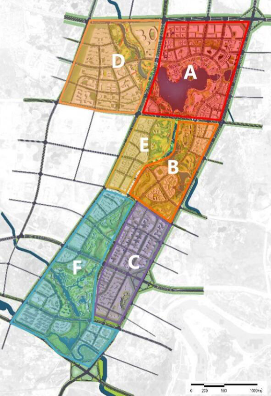 落实了 天府新区三大发展轴线并进左轴堪称黄金线图片