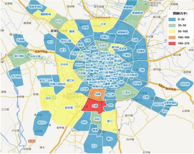 最新城南板块细分和房价图 买房落户必看图片