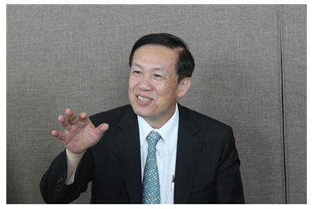 乡林董事长赖正镒:台湾已无地可拿 发展机会在大陆图片