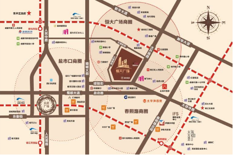 恒大广场天际华宅 带你走入一个城市的巅峰