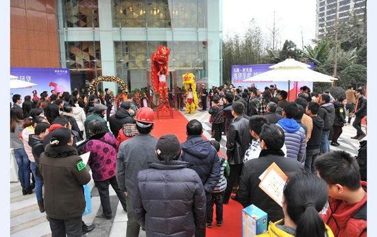 东原时光道首次亮相 2000余客户到访参观
