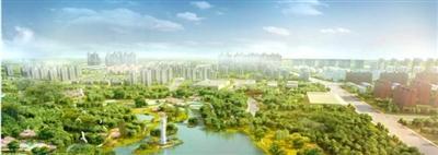 """成都新都区要建泥巴沱森林公园 城北将添大""""绿肺"""""""