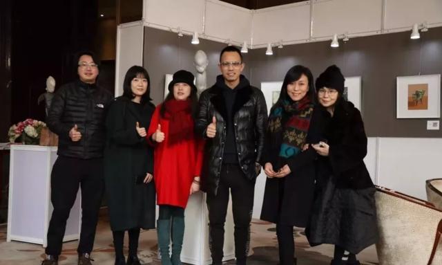 她美力•雷和胡有辰双人展12月24日隆重开幕