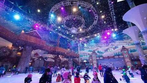 重磅消息:国色天乡冰雪乐园将于圣诞开园