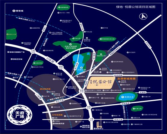 它让龙潭新城拼图更加完美--公馆悦蓉绿地_房星城联排别墅博雅图片