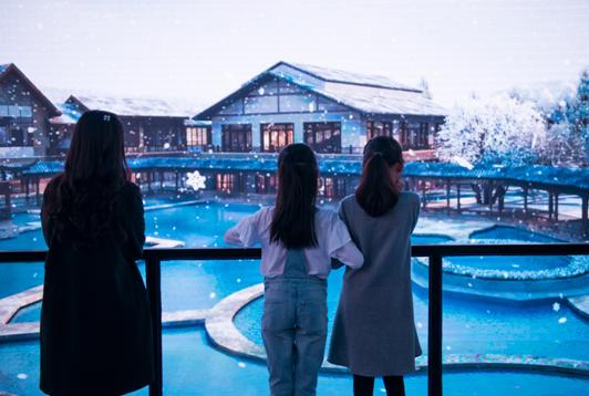 30帧沉浸式全景体验剧场在峨眉半山七里坪盛大开馆