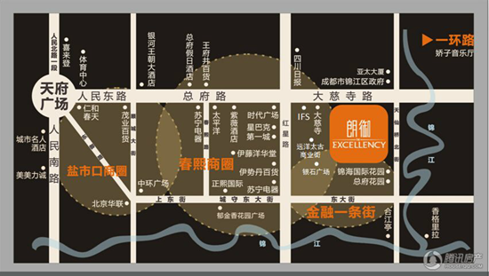 """朗御:位核心商圈 聚合城市梦""""享"""""""