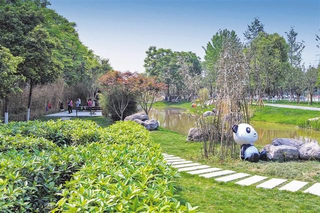 成都最长环状城市公园 三环路熊猫绿道下月基本完工
