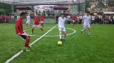 龙湖世界杯五人制足球赛圆满落幕