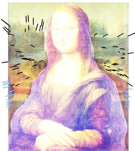 """微笑""""的秘密 · · · · · · 达芬奇真的曾试图用这两幅《蒙娜丽莎图片"""