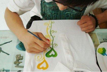 东原d7区diy手绘t恤创意秀