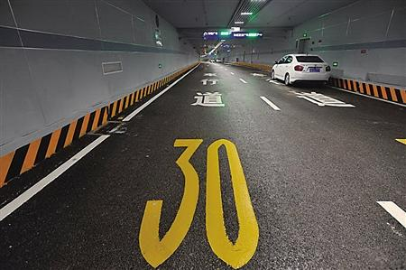 解放碑地下环道明天开通 连接7个车库近5000个停车位