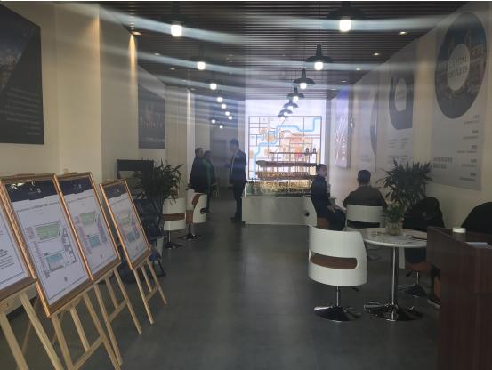 等待已久的首创奥特莱斯 临时销售中心开放了