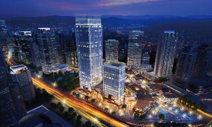观音桥的新明珠 新壹街尊享国际办公新风范