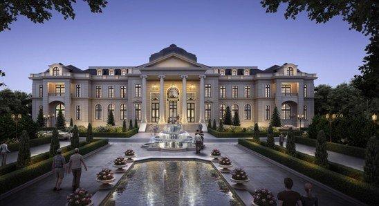 要别墅更要法式 凡尔赛花园湖岛墅区惊艳新牌坊图片