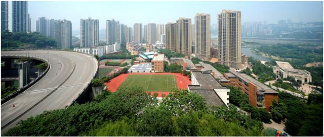 人民融侨小学,南开融侨中学,重庆首屈一指的两大名校,惟江城著可享图片