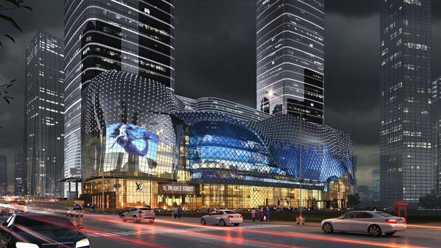 重庆城市地标作品英利环贸中心 将在解放碑首发