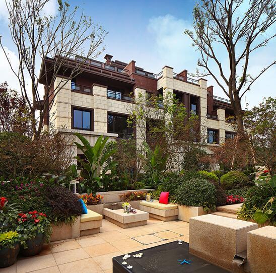 金科天宸独特花园设计 匠心蕴造重庆最具诚意的别墅