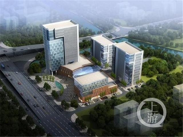 创新园就是总建筑面积超过9万平方米的装配式钢结构