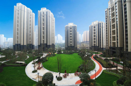 巴南旭辉城:龙洲湾首选之盘,中庭里的品质之家