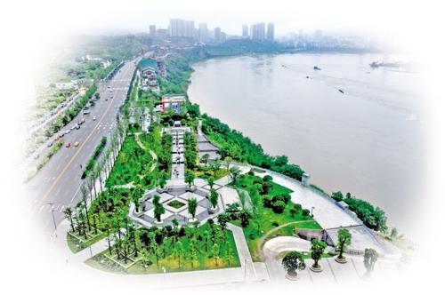 龙洲湾为巴南现代都市形象代言
