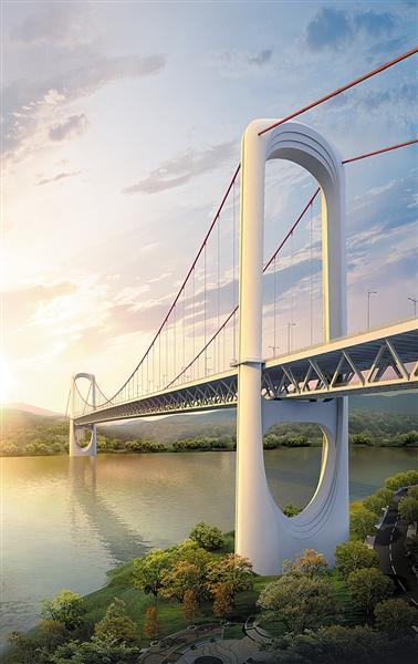 郭家沱长江大桥 礼嘉嘉陵江大桥 土主隧道开工啦