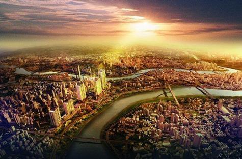 重庆城市商务名片 解构cbd滨水商务价值链