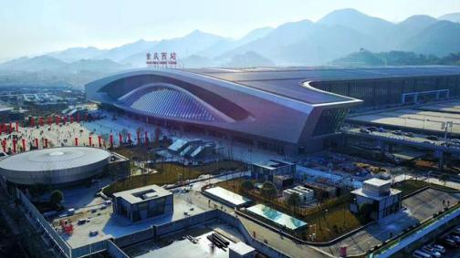 西站承接九龙坡千亿大交通利好_提升望山国际居住价值