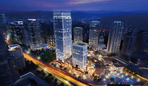 领航重庆商务发展 新壹街地标掌控资本财富主场