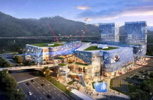 圣名世贸城百万方商业9月即将开业,带动空港楼盘投资热潮