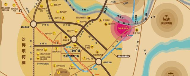 青岛长沙路75号天地华宇地图