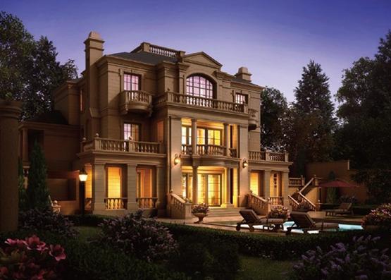 欧麓之巅的公园法式别墅,套内107㎡实得约400㎡,全城预约图片