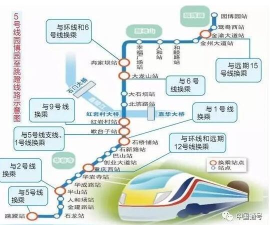 全球首条互联互通地铁,重庆轻轨五号线解决世界性难题!