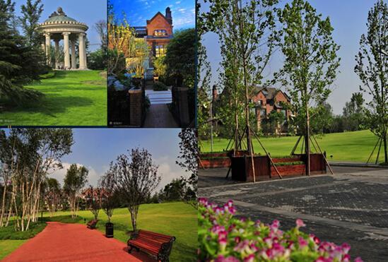 融创以一己之力开创的城市 融创欧麓花园城图片