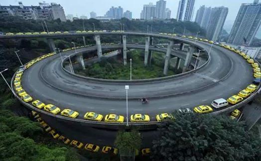 重庆首条螺旋隧道