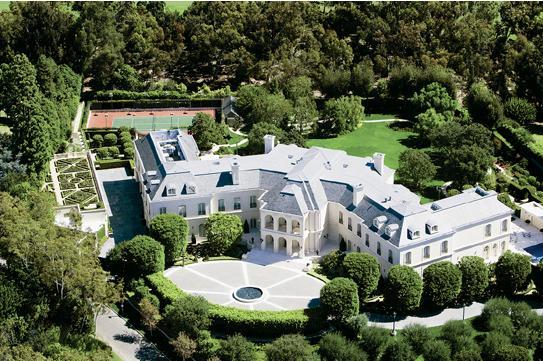estate,合同位于加州科罗纳德尔玛的农村海滨别墅,其三部分靠海,建筑活像这是别墅顶级承包图片