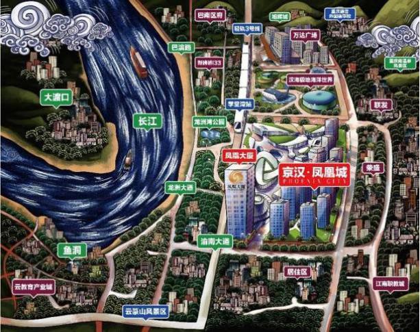 京汉凤凰城2号楼如约而至 不负期待