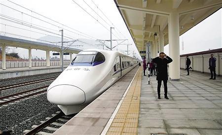 渝贵铁路开通在即 重庆西到贵阳中途不停最快112分钟