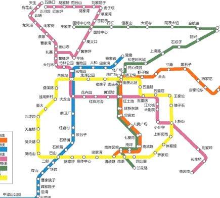 轻轨5号线驶进彩云湖 一站即达雍翠名门图片