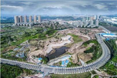 礼嘉宜居商务旅游城,龙湖昱湖壹号开启滨水商圈豪宅新生活