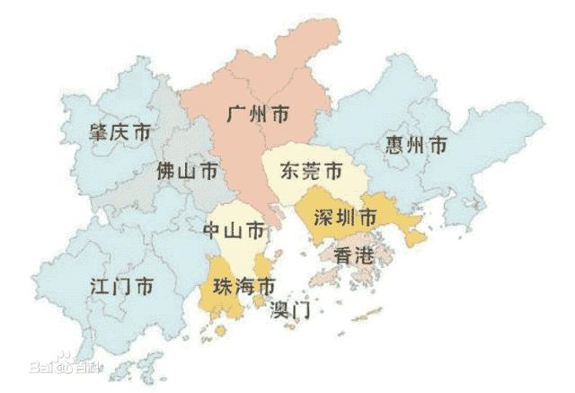 2021大湾区经济总量_2021大湾区房价地图