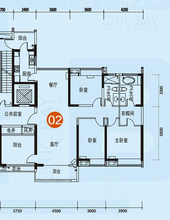 [户型点评] 160方四房望江园双景 绝美大户型享四世同堂