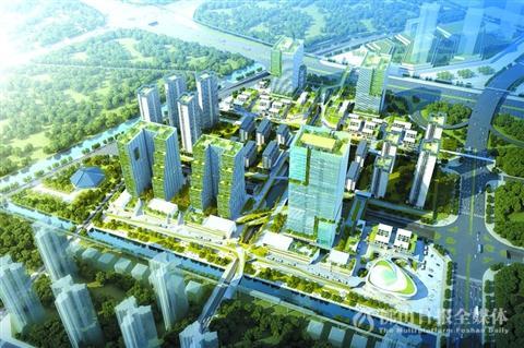 新能源汽车小镇示范高品质现代化城市建设 房产佛山站 腾讯网高清图片