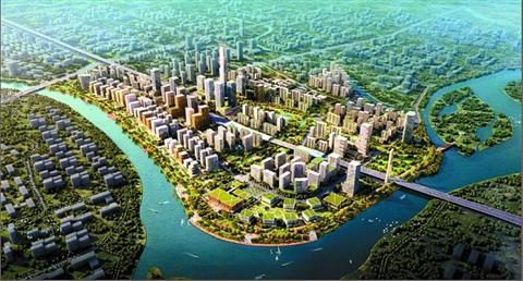奇槎创新产业园区规划图-58次激烈竞价 时代8.76亿竞得奇槎产业园区