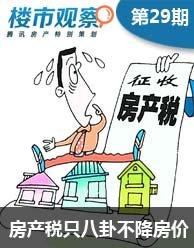 """楼市观察第29期:福州将征房产税?――只""""八卦""""不降房价!"""
