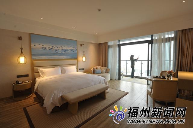 福州滨海新城首个大型海湾度假酒店12日试营业